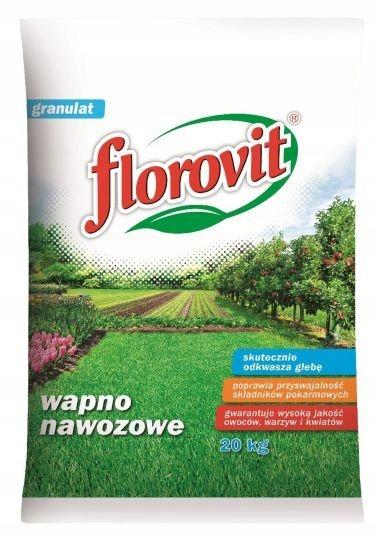 Wapno granulowane nawozowe Florovit 20 kg