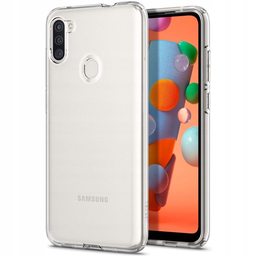 Etui do Galaxy A11, Spigen Liquid Crystal, cover