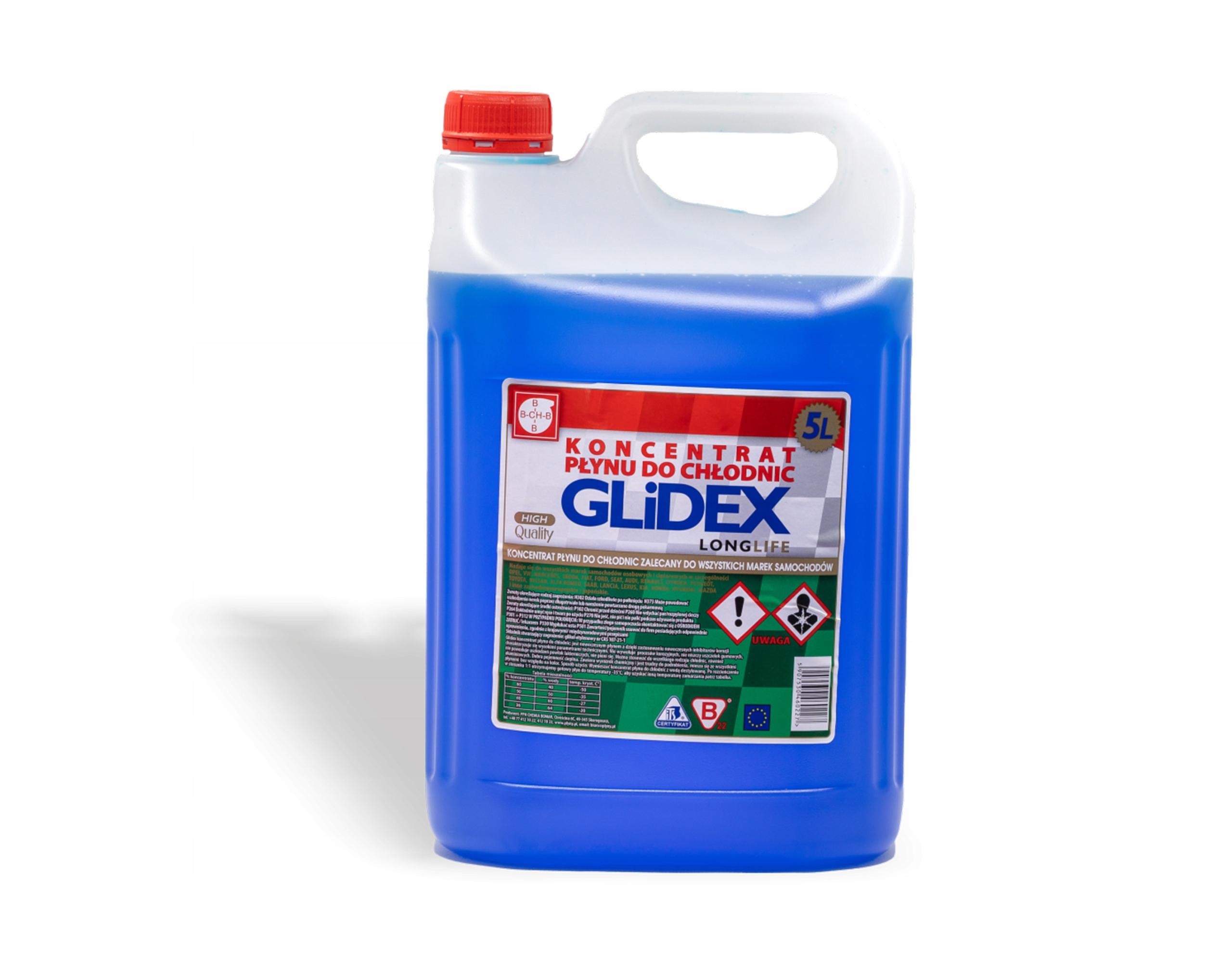 Концентрат для охладителей GLIDEX LongLife 5L