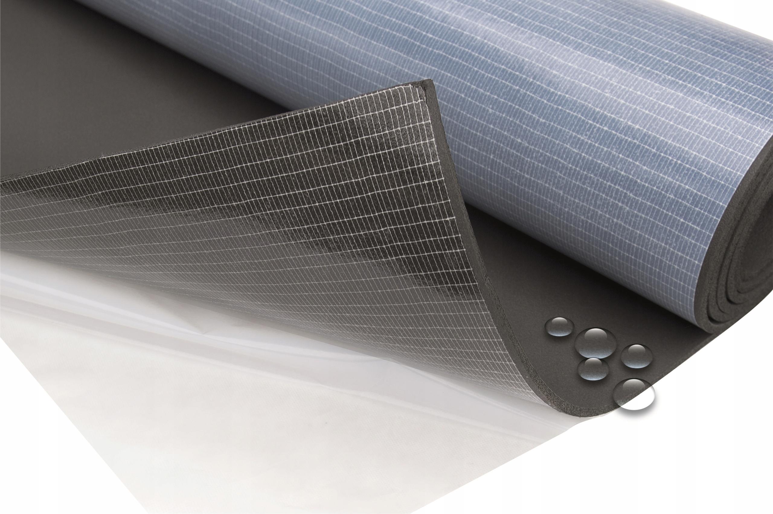Zvukový akustický maccinide gumová pena 10mm lepidlo