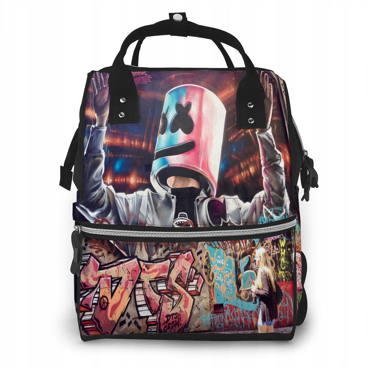 Materská školská taška Ybn-701-Y0138 Marshmello 8