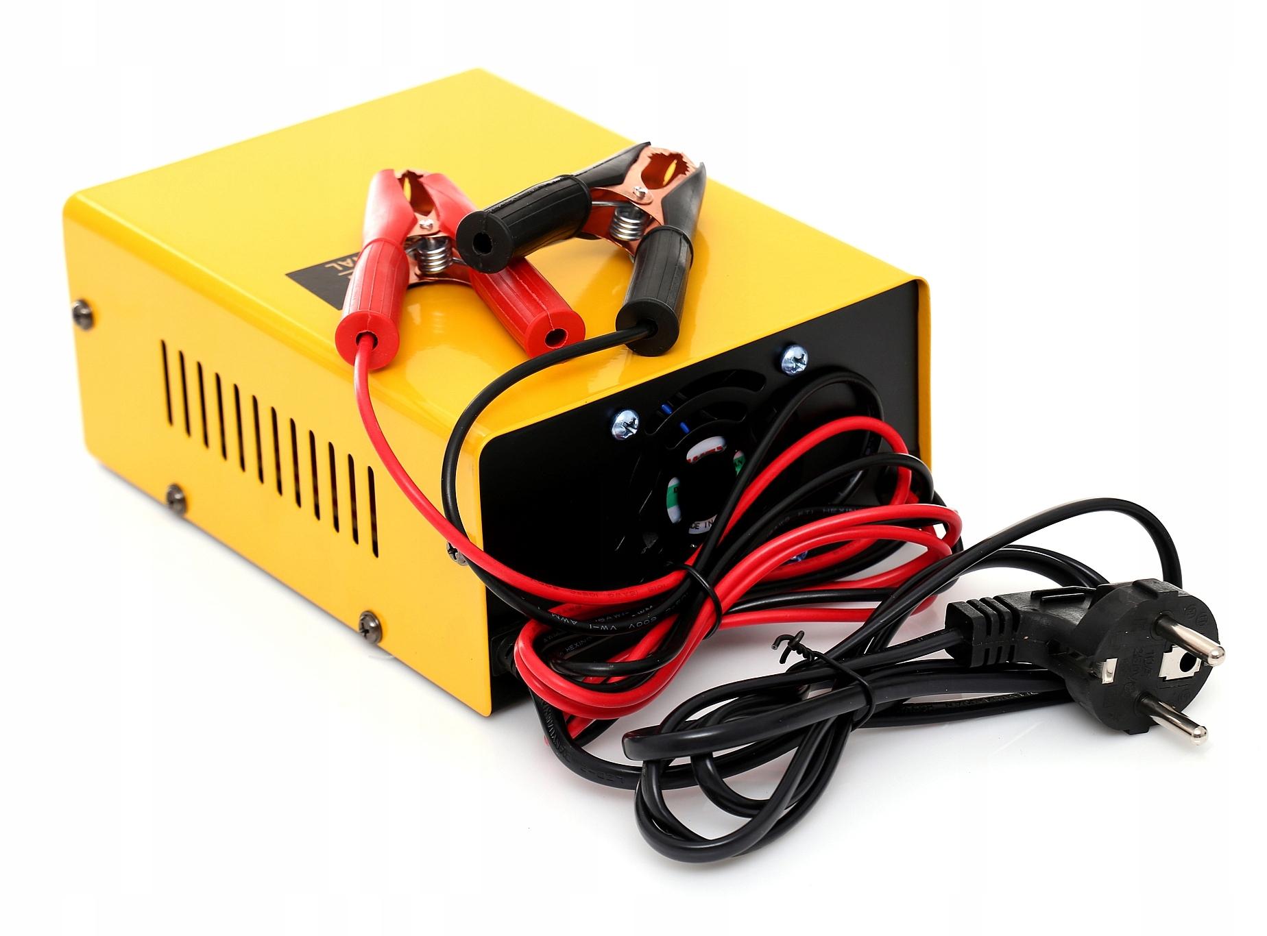 Купить ЭЛЕКТРОННОЕ Зарядное устройство для аккумуляторов 12В 24В на Otpravka - цены и фото - доставка из Польши и стран Европы в Украину.