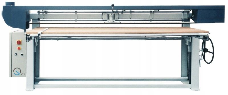 Szlifierka długotaśmowa LB szlifierki 4kW 150x7150