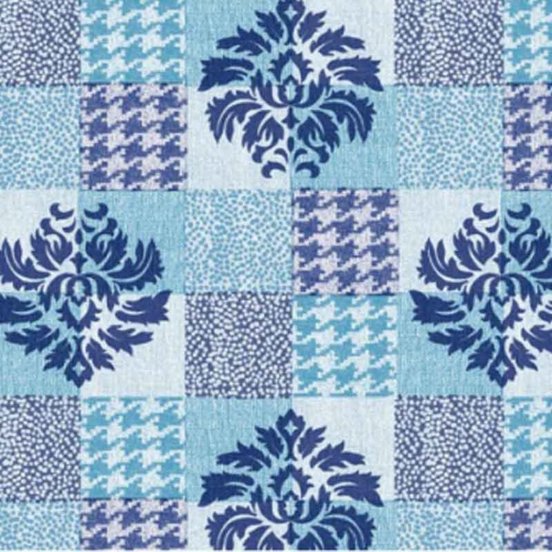 Modrá rohož do kúpeľne 65cm x15m