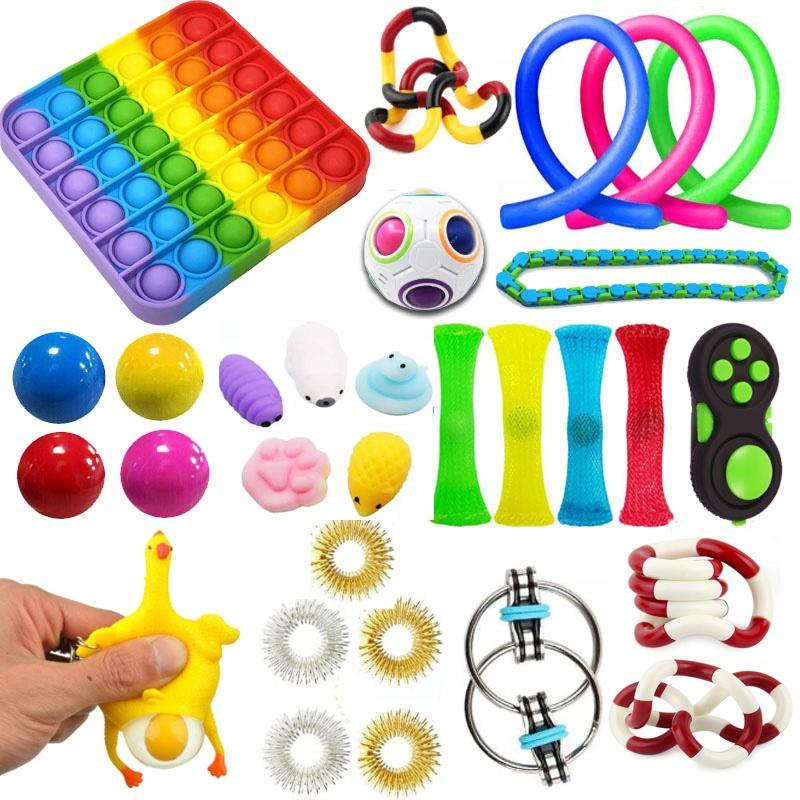 Набор мягких мягких игрушек для снятия стресса x30