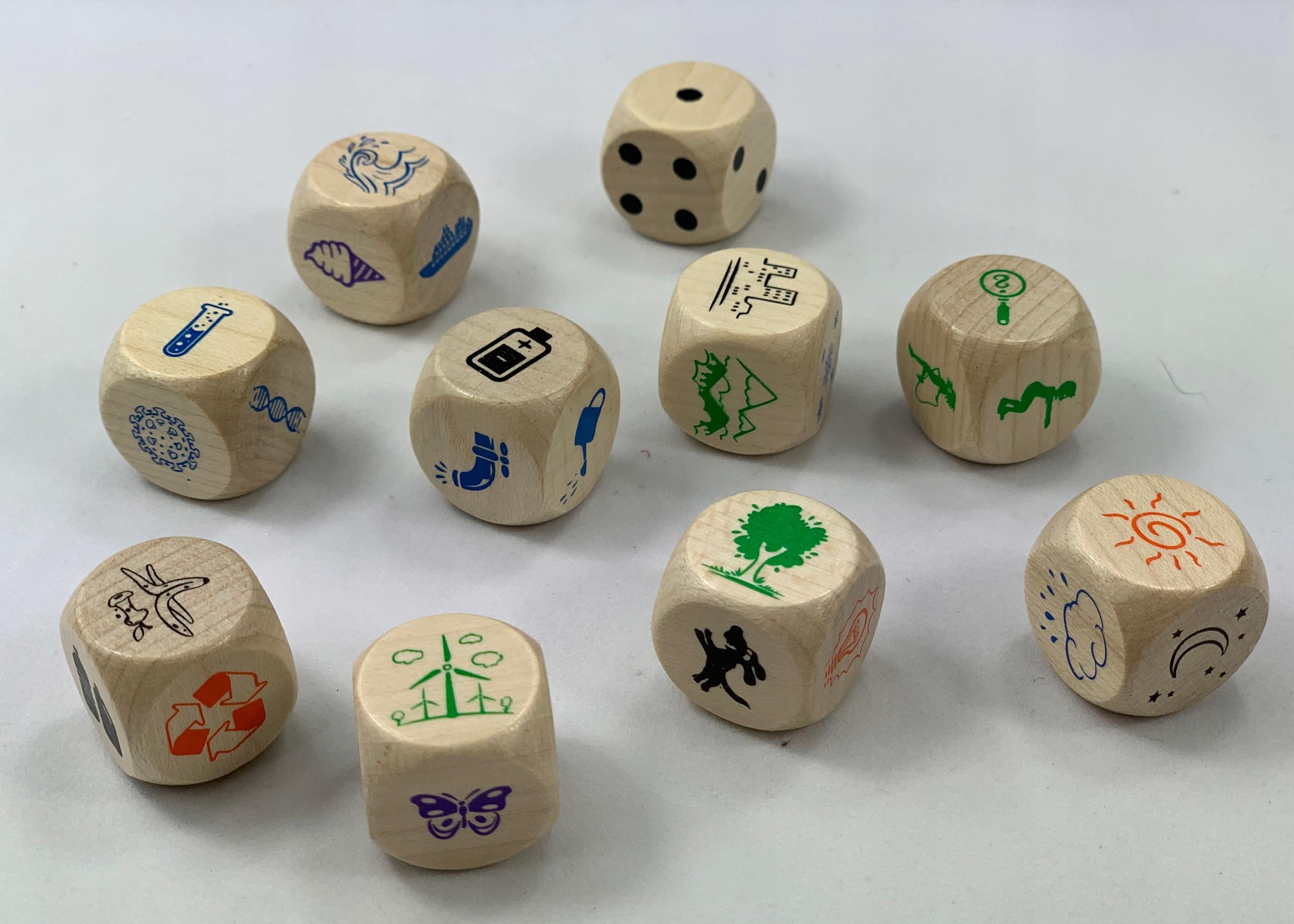 Eko gra dla dzieci OPOWIADANKI ekomania Materiał Drewno Papier Tkanina Inny