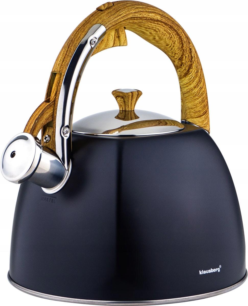Чайник 3 свисток машина индукционная газовая KLAUSBERG