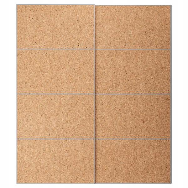 IKEA KIRKENES Dvere dyha korkowa 200x236 cm