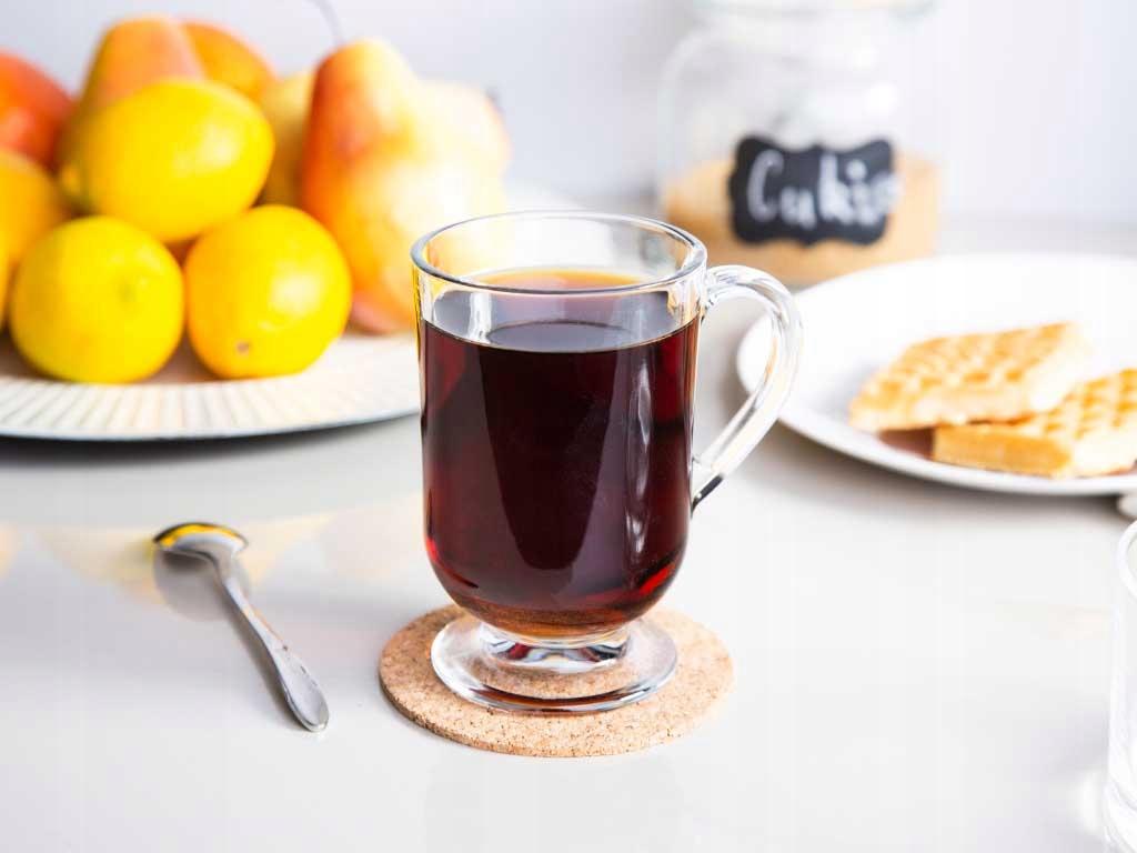 ZESTAW SZKLANKI DO KAWY LATTE Herbaty 300ml 6 szt Pojemność 310 ml