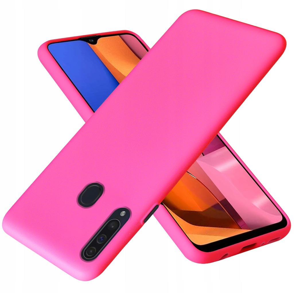 Etui do Samsung Galaxy A20S Case Silikon + Szkło