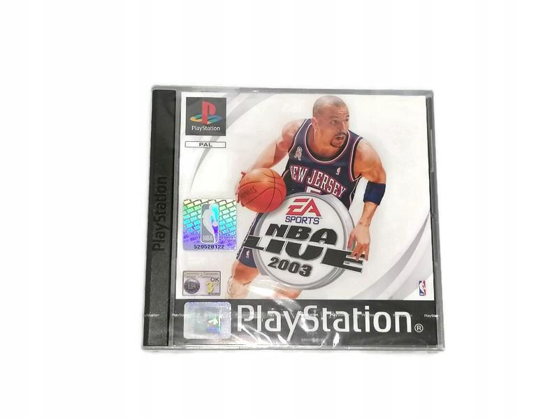 NBA LIVE 2003 NOVINKA !!! FÓLIA !!!