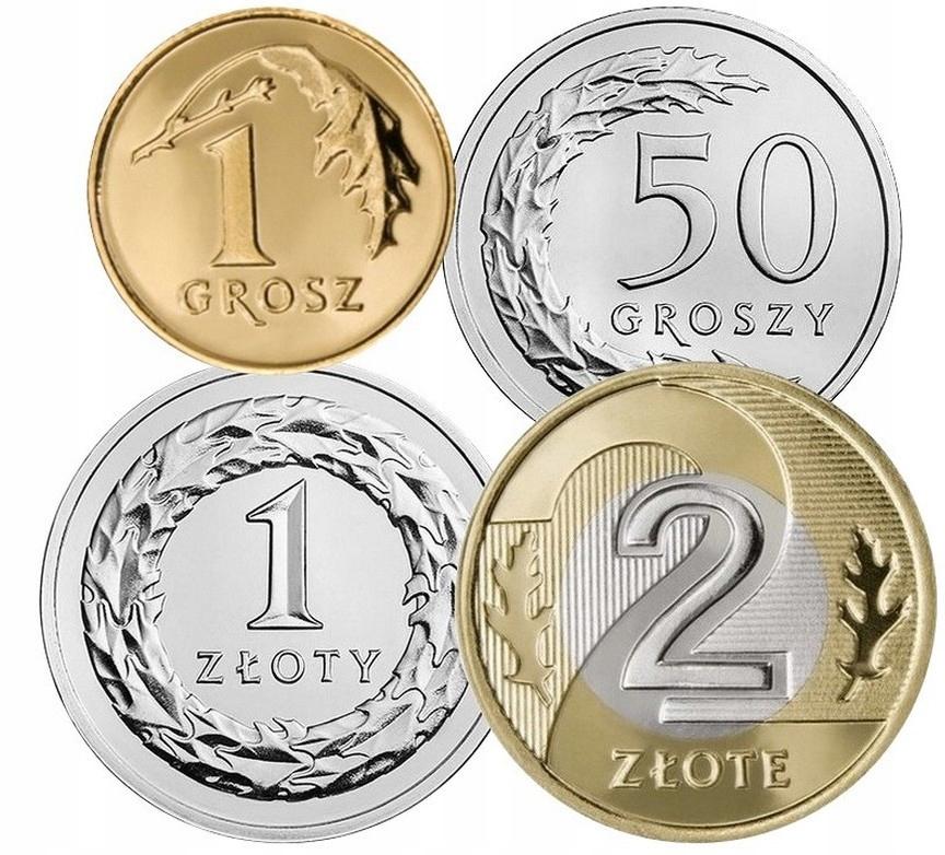Набор циркуляционных монет 1995 UNC 4 штуки