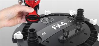 FLUVAL fx6 внешний фильтр 2300 л / ч + + + бесплатные! Потребляемая мощность 41 Вт