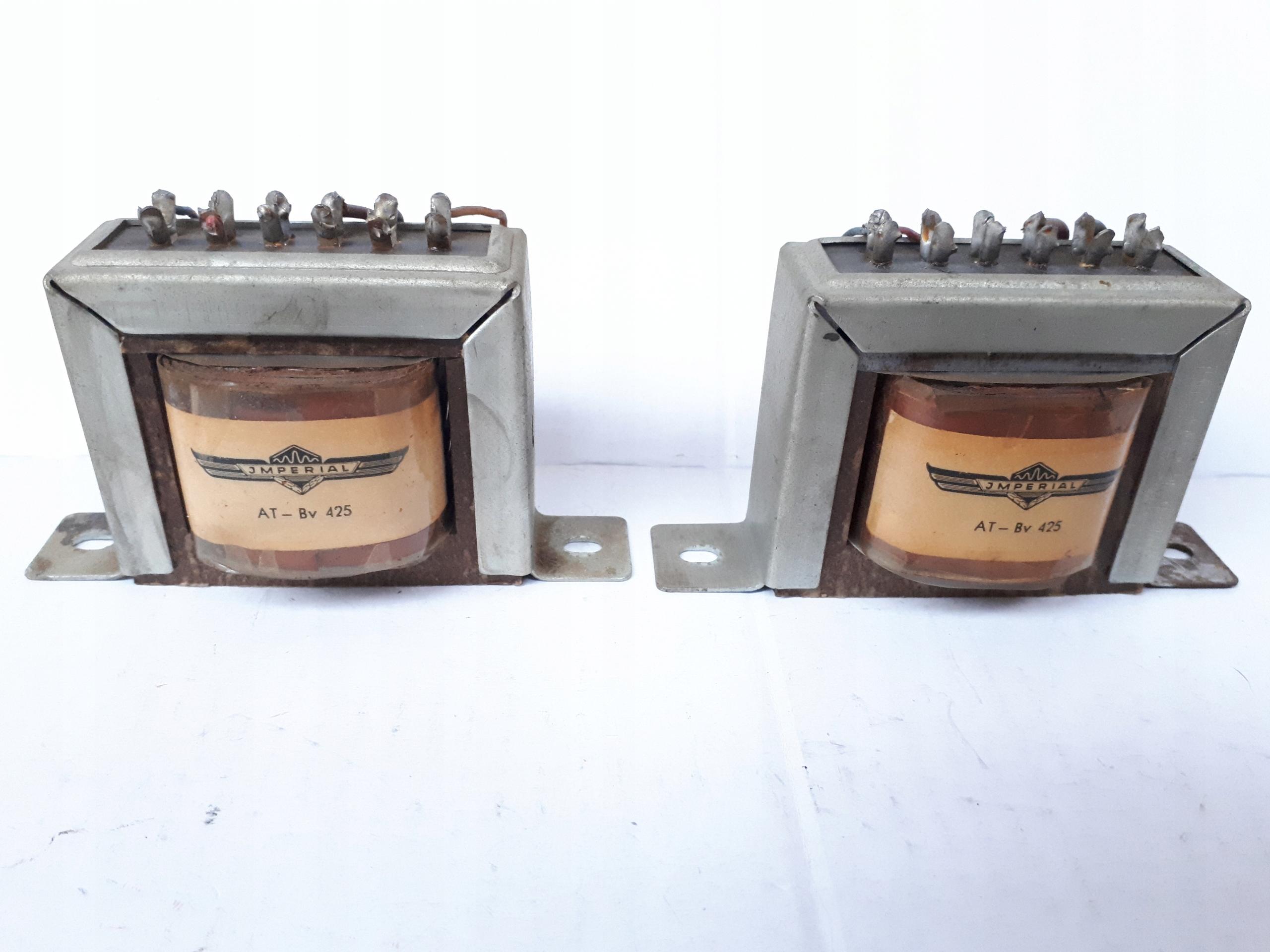 Трансформаторы для громкоговорителей jmperial (ECL82)