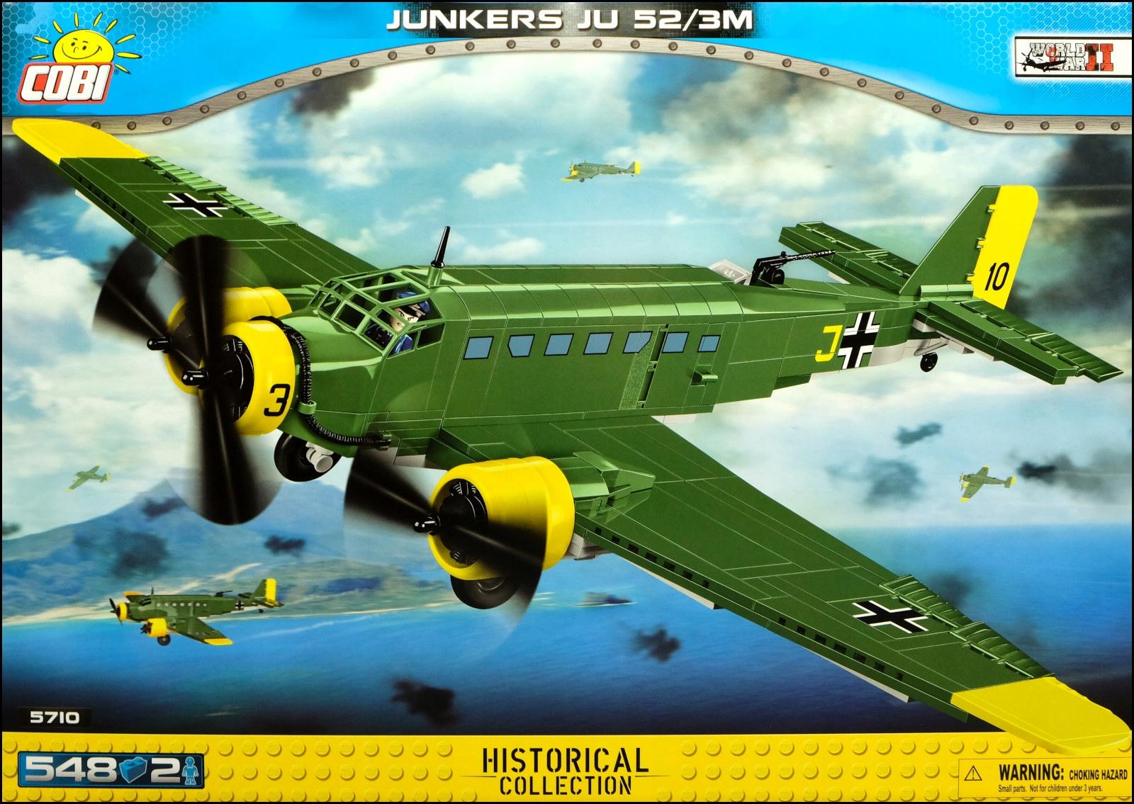 COBI Junkers Ju 52 / 3M (5710) - 548 ks.