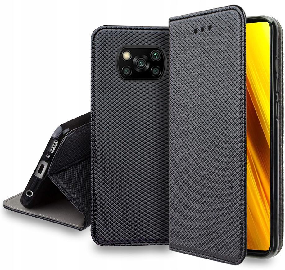 Etui do Xiaomi Poco X3 NFC Case Magnet + Szkło 9H