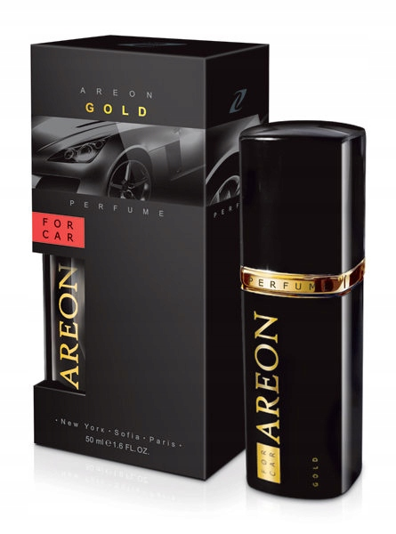AREON Perfume GOLD PERFUMY DO SAMOCHODU PREMIUM