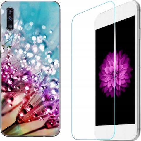 Etui 130 wzorów Samsung Galaxy A70 Case+szkło