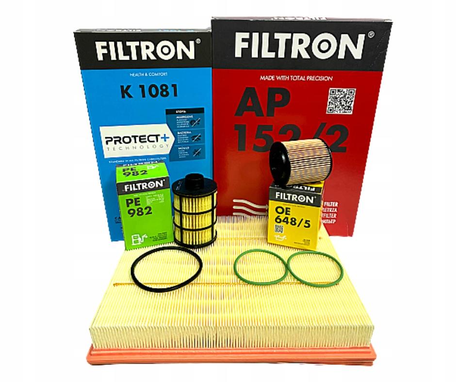 комплект фильтры filtron opel vectra c 19cdti