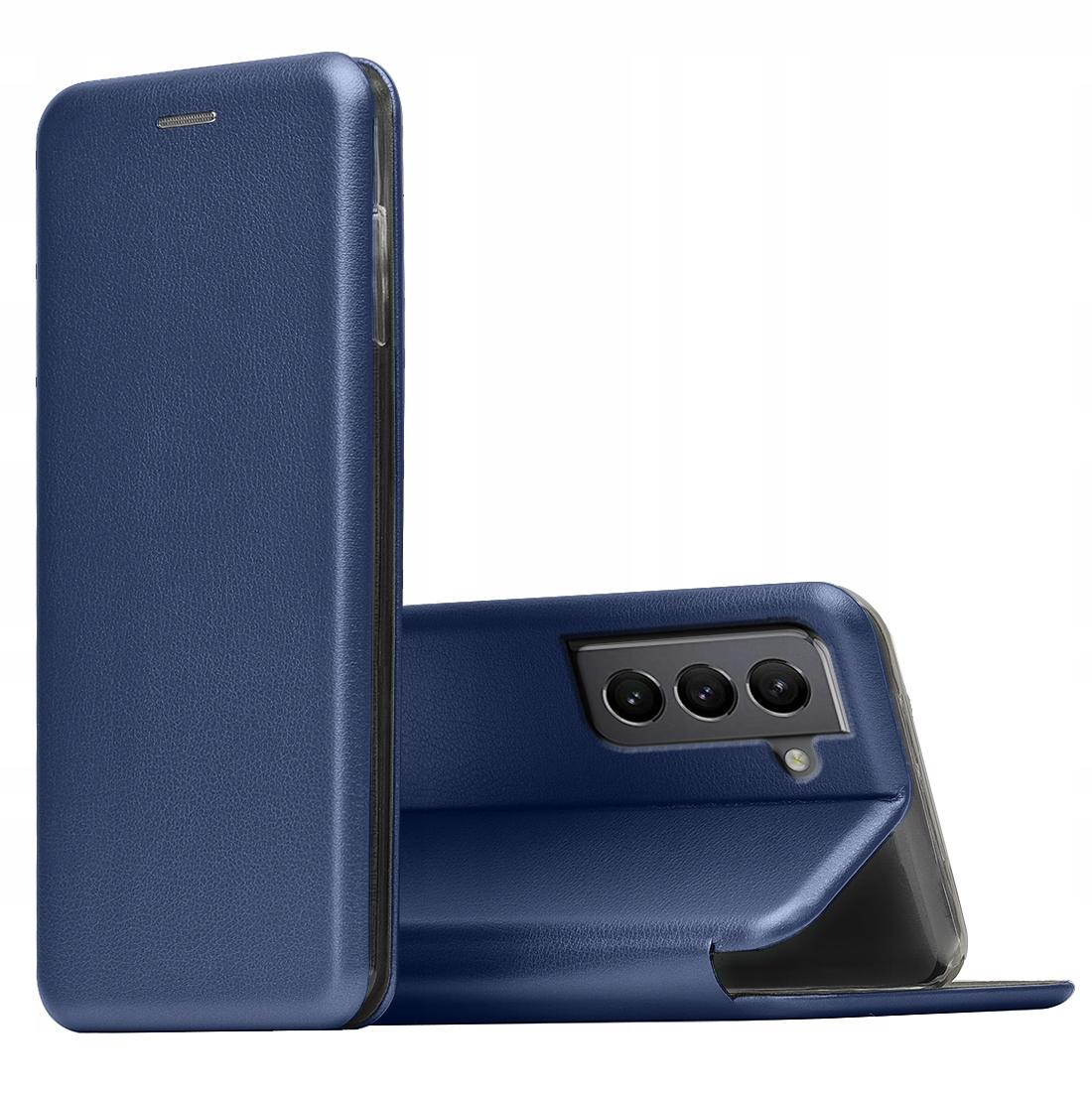 Etui do Samsung Galaxy S21 Skórzane Magnet + SZKŁO