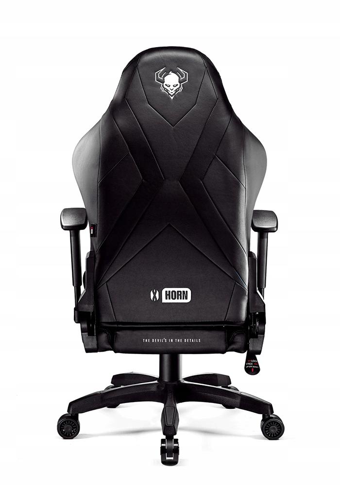 Вращающееся кресло DIABLO X-HORN L GAMING GAMER Максимальная высота сиденья 59 см