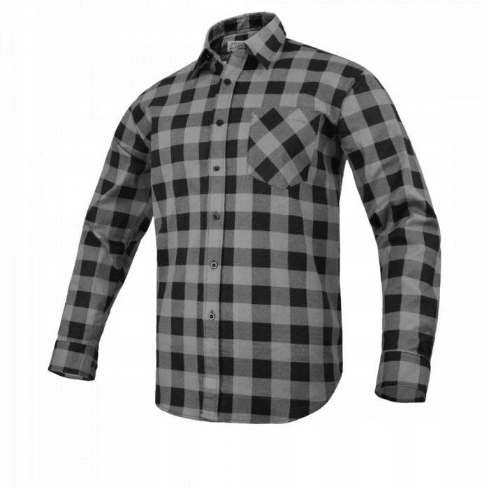 Фланелевая рубашка Рабочий Синий Серый R. 43