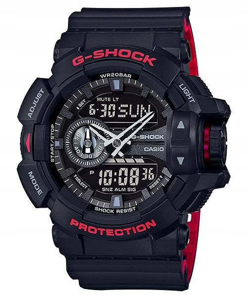 Мужские спортивные часы Casio G-SHOCK GA-400HR-1A