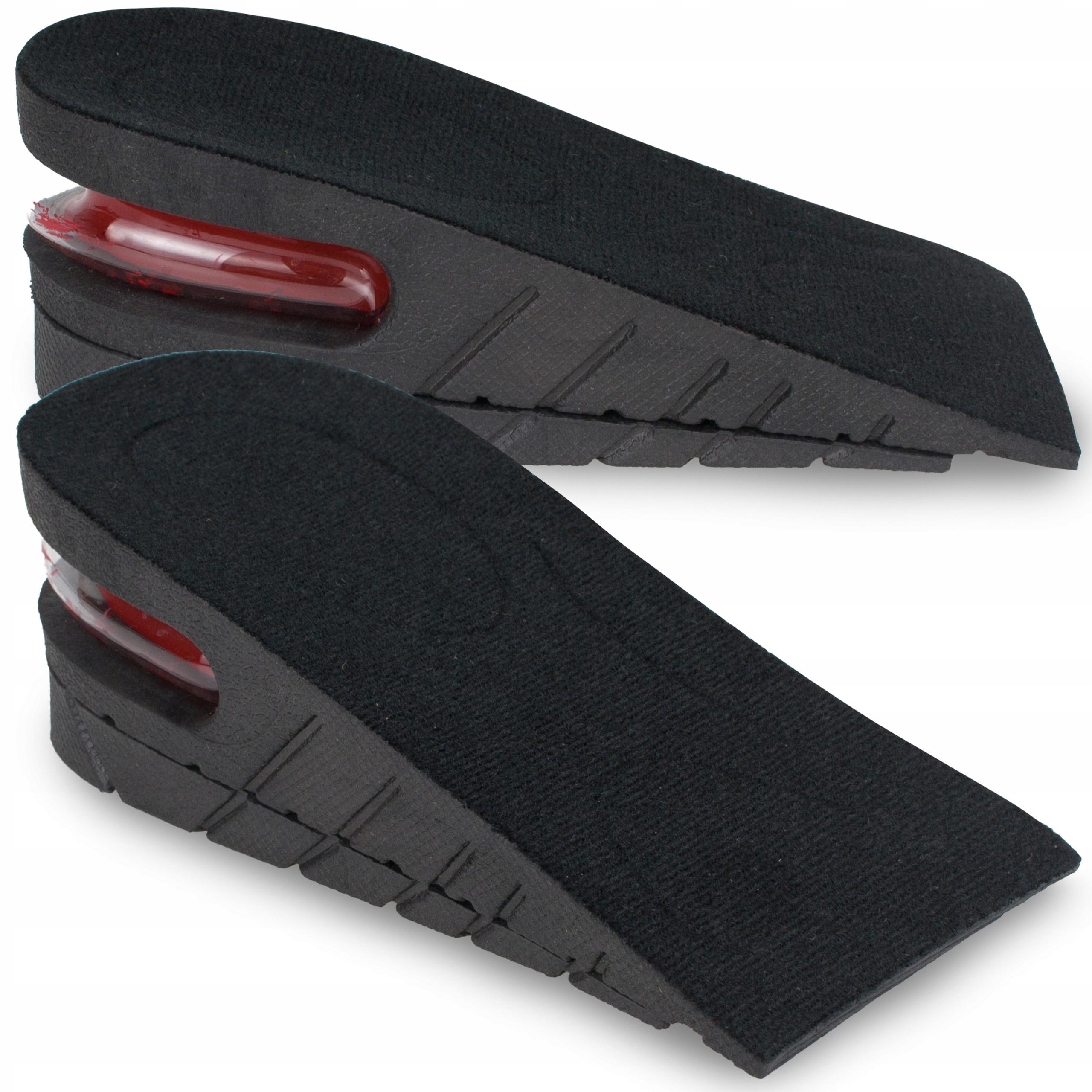 Podwyższające podpiętki wkładki butów wzrost 5 CM
