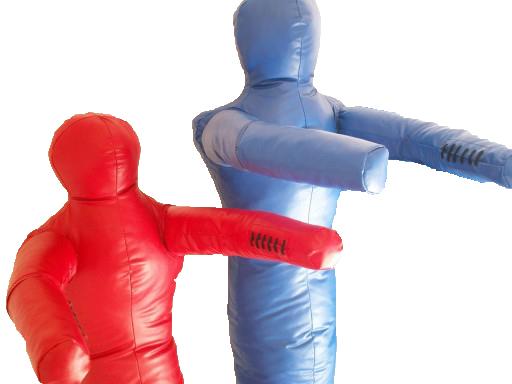 Manekin zápas s jednodielnym 120 cm / 16kg s PVC
