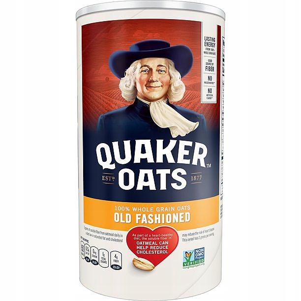 Quaker Oats Old Fashioned 510 г США