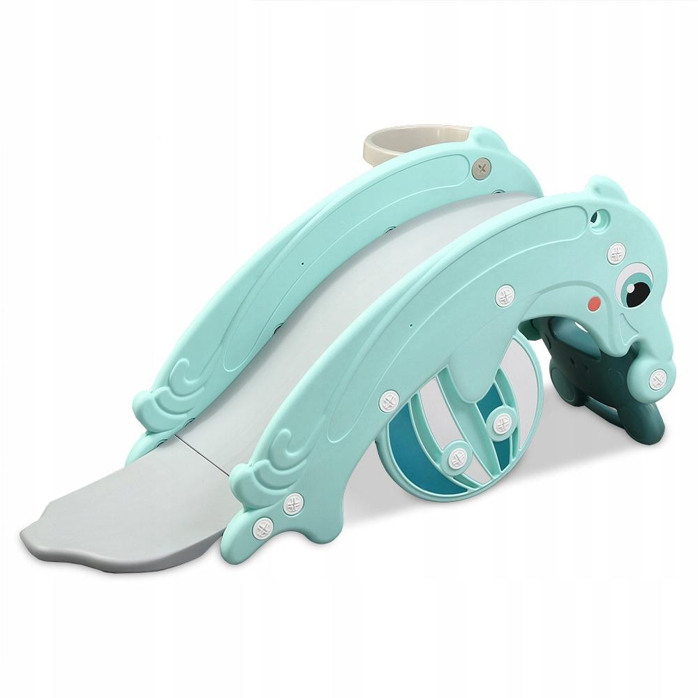 Delfinek,Kołyska,Zjeżdżalnia dla Dzieci,Kombinacja Rodzaj Plastikowe