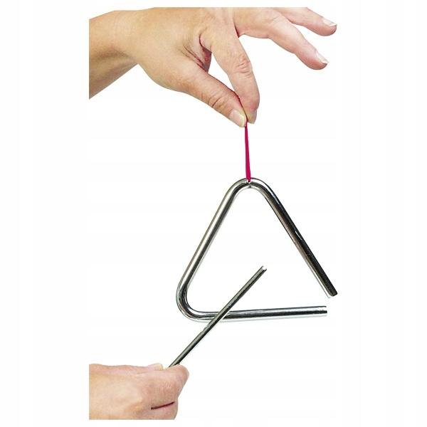 GOKI Musical Trojuholník Rhythmic v materskej škole 10cm