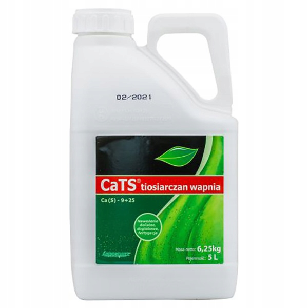 CATS CALCIUM THIOSULPHATE 5l сульфатно-кальциевое удобрение