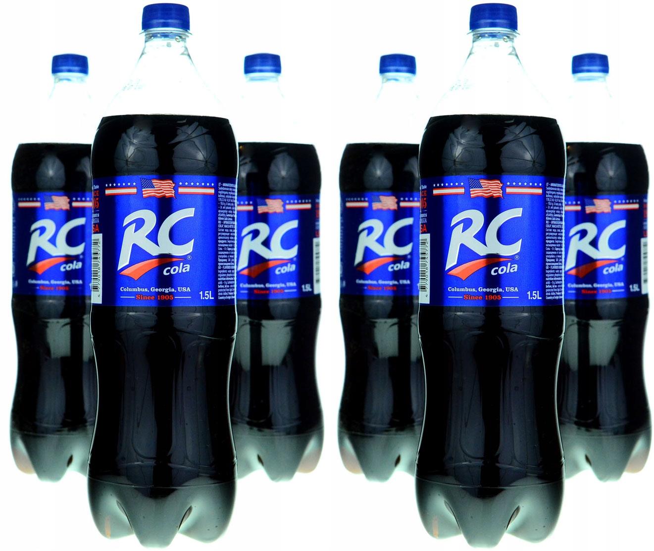 RC COLA - 3-е место в мире, лучший вкус 9л