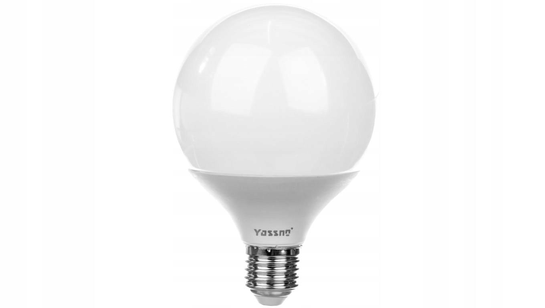 Żarówka LED E27 10W (G95) 740lm 4000K 220-240V YAS