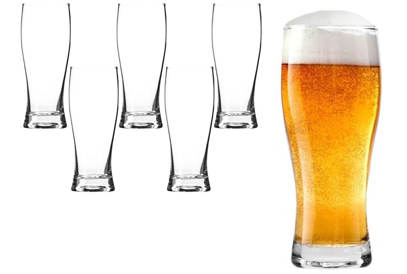 Szklanki kufle do piwa 500ml KROSNO 6x Chill POKAL