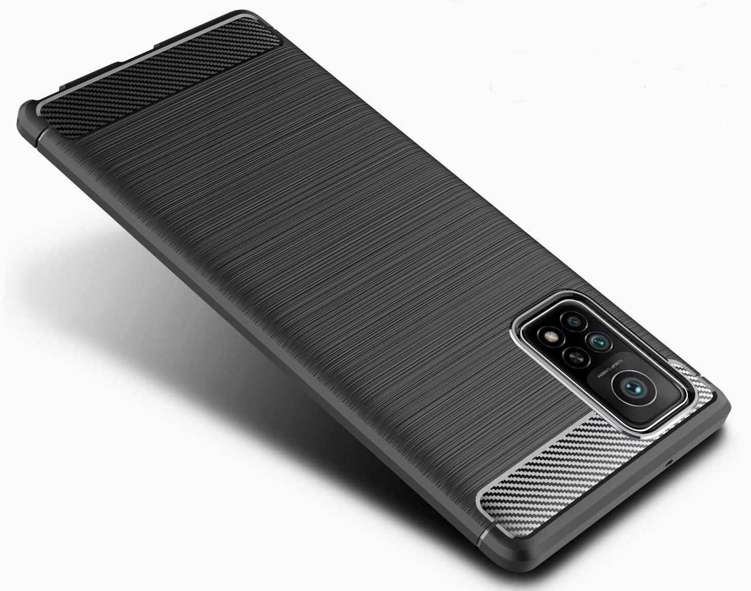 Etui do Xiaomi Mi 10T KARBON PANCERNE + SZKŁO Kod producenta 2C38