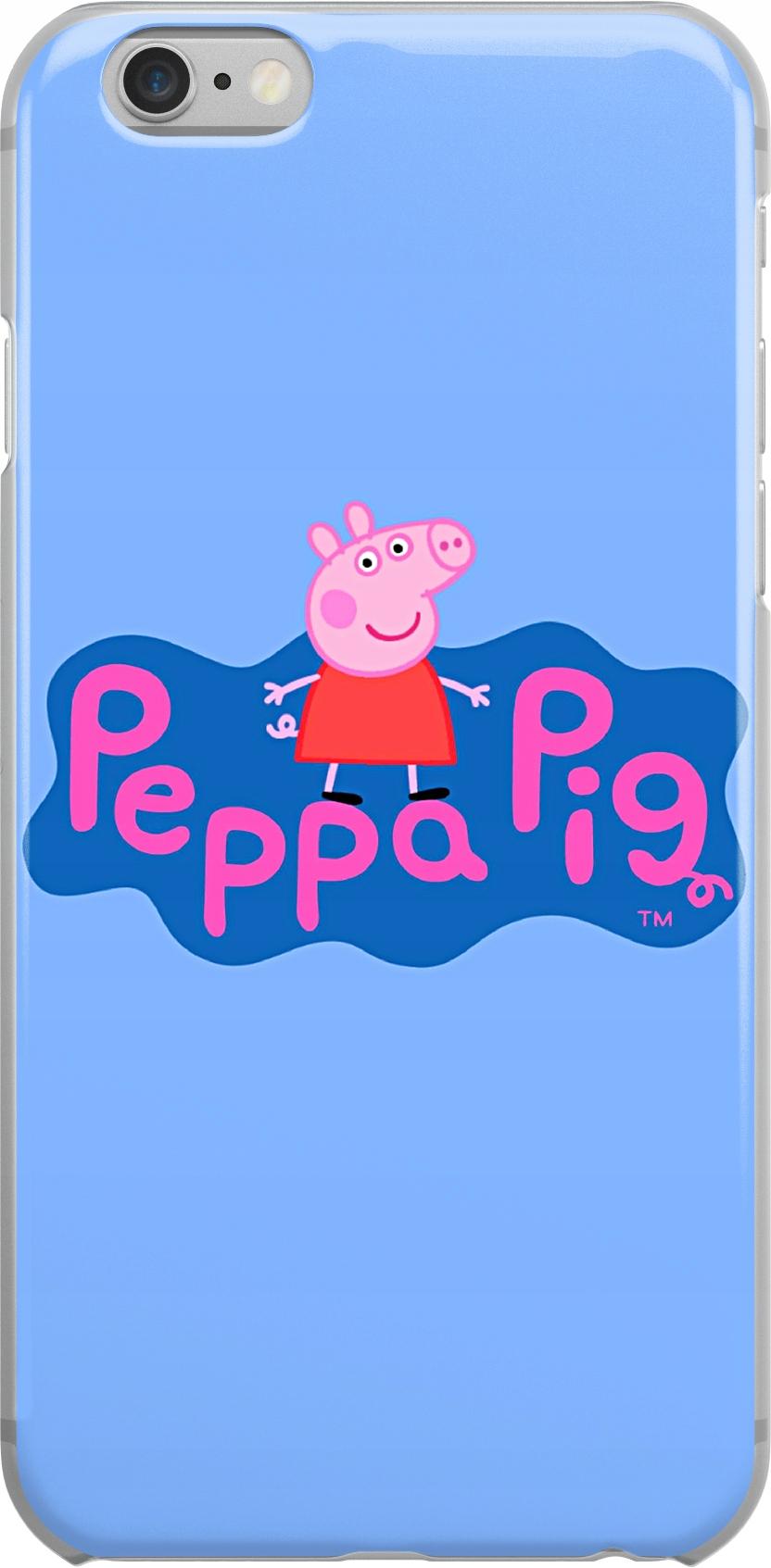 Etui Wzory Peppa Huawei W1