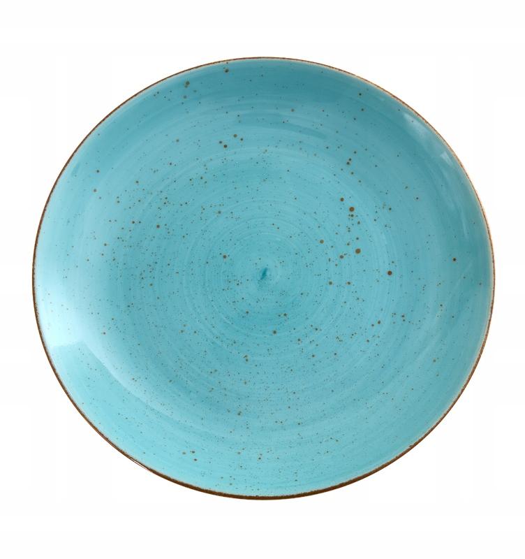 Talerz deserowy 19,5 cm Lubiana lazurowy