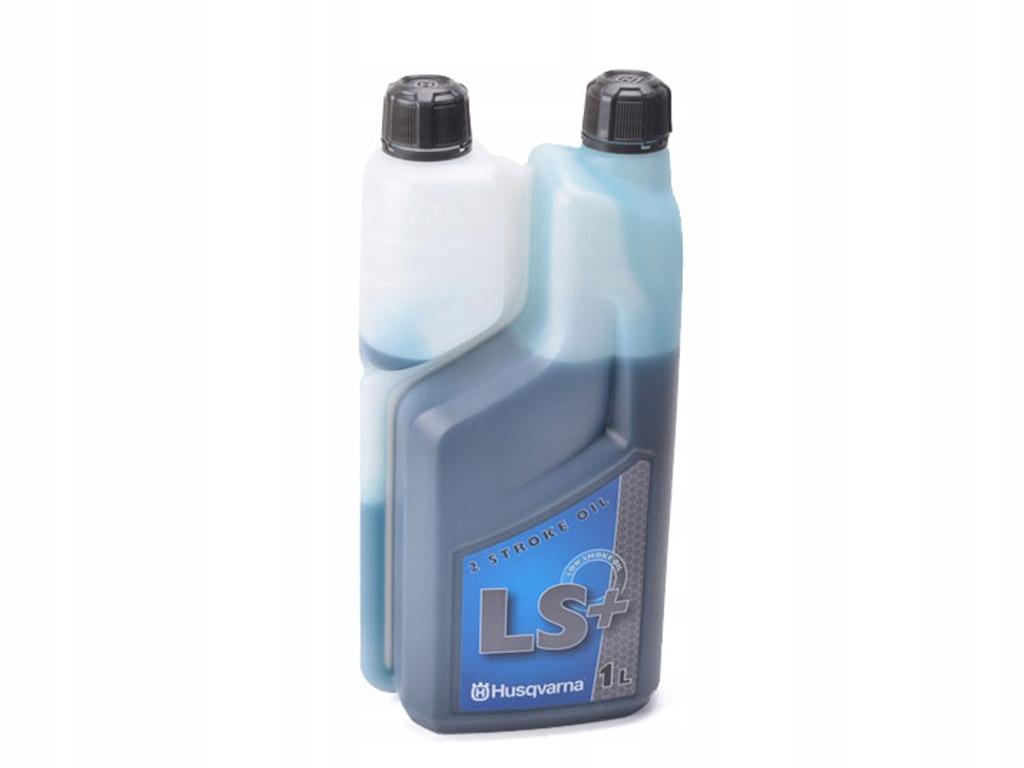 2t Husqvarna LS + zelený olej pre 2-taktný 1l LS2