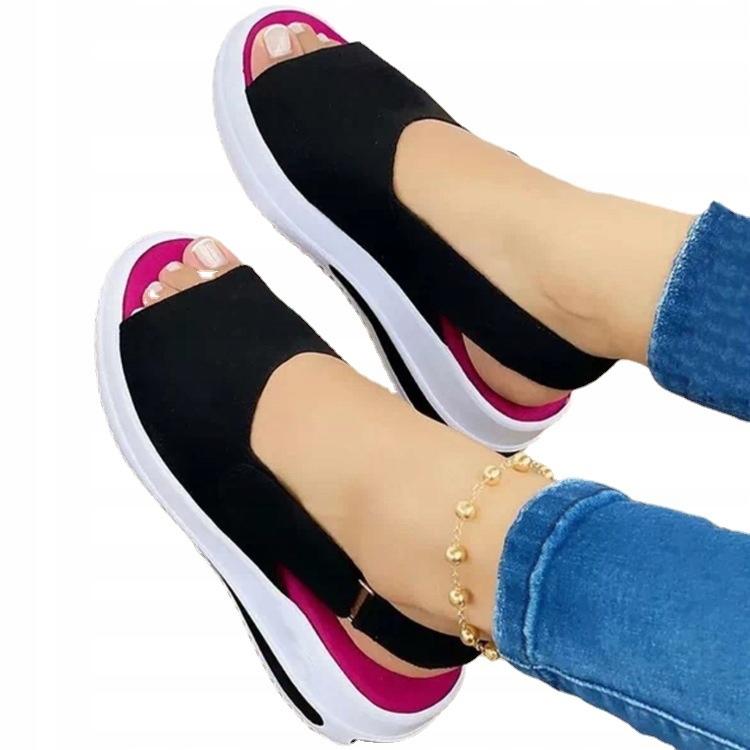 Элегантные сандалии на толстой подошве ROZ 35-40