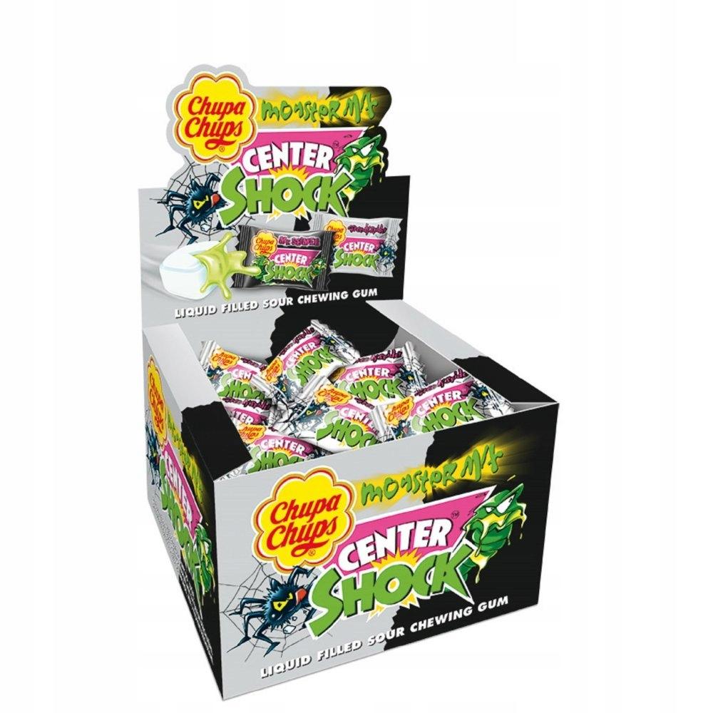 Guma center shock monster 100szt chupa chups