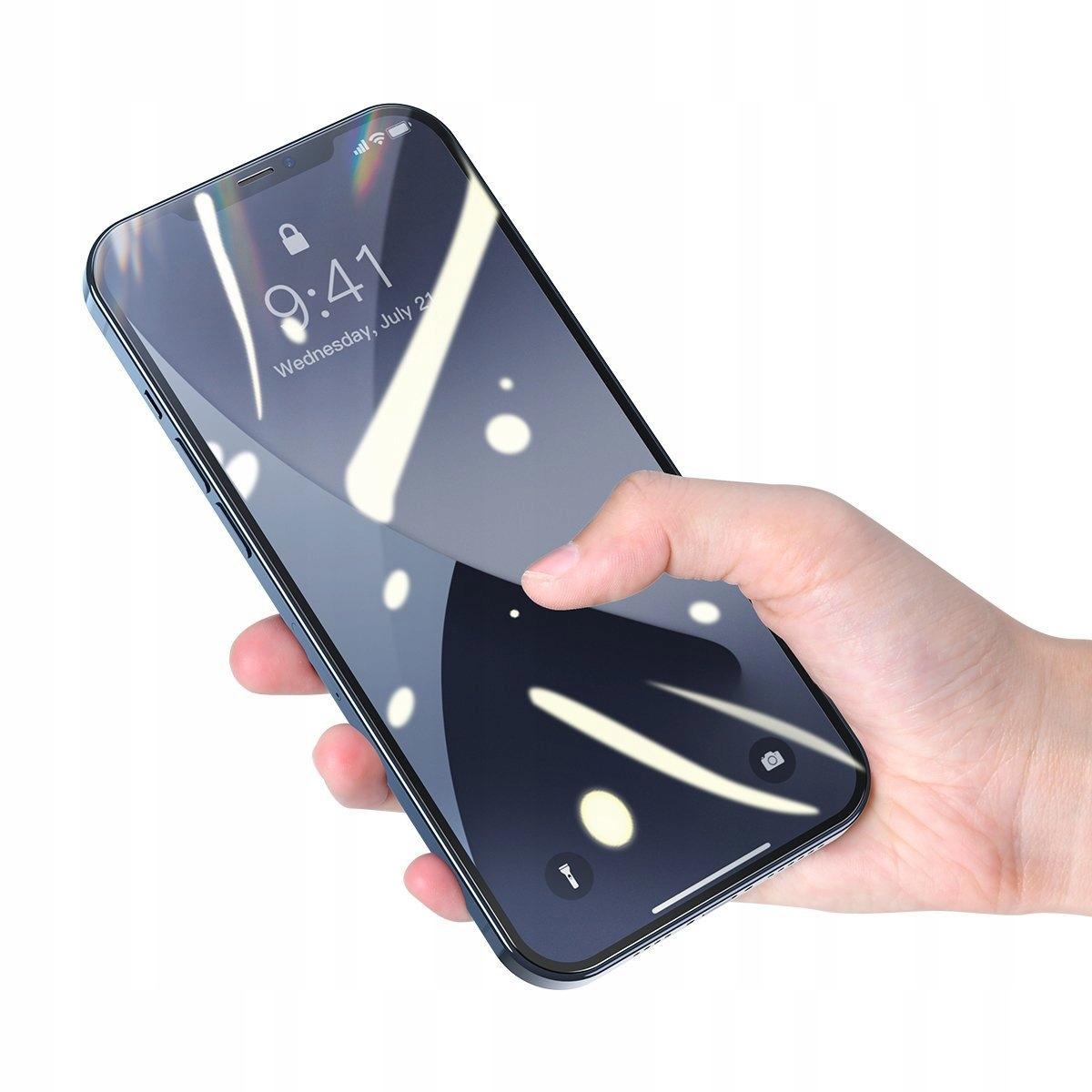 Baseus Szkło hartowane do iPhone 12 / 12 Pro 6.1 Kod producenta 6953156229099