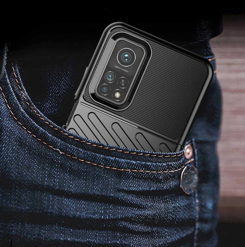 Etui do Xiaomi Mi 10T Pancerne Case + Szkło 9H Typ plecki