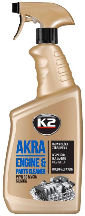 K2 AKRA - МОЙКА ДВИГАТЕЛЯ - АТОМАЙЗЕР - 770 мл