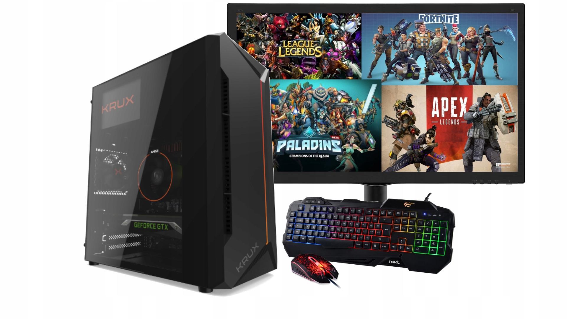 Zestaw Do Gier I5 Gt1030 8gb Monitor 22 Win10 Wifi Sklep I Komputery Stacjonarne Allegro Pl