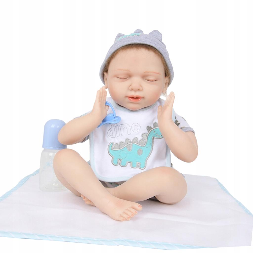 Plne silikónová znovuzrodená bábika