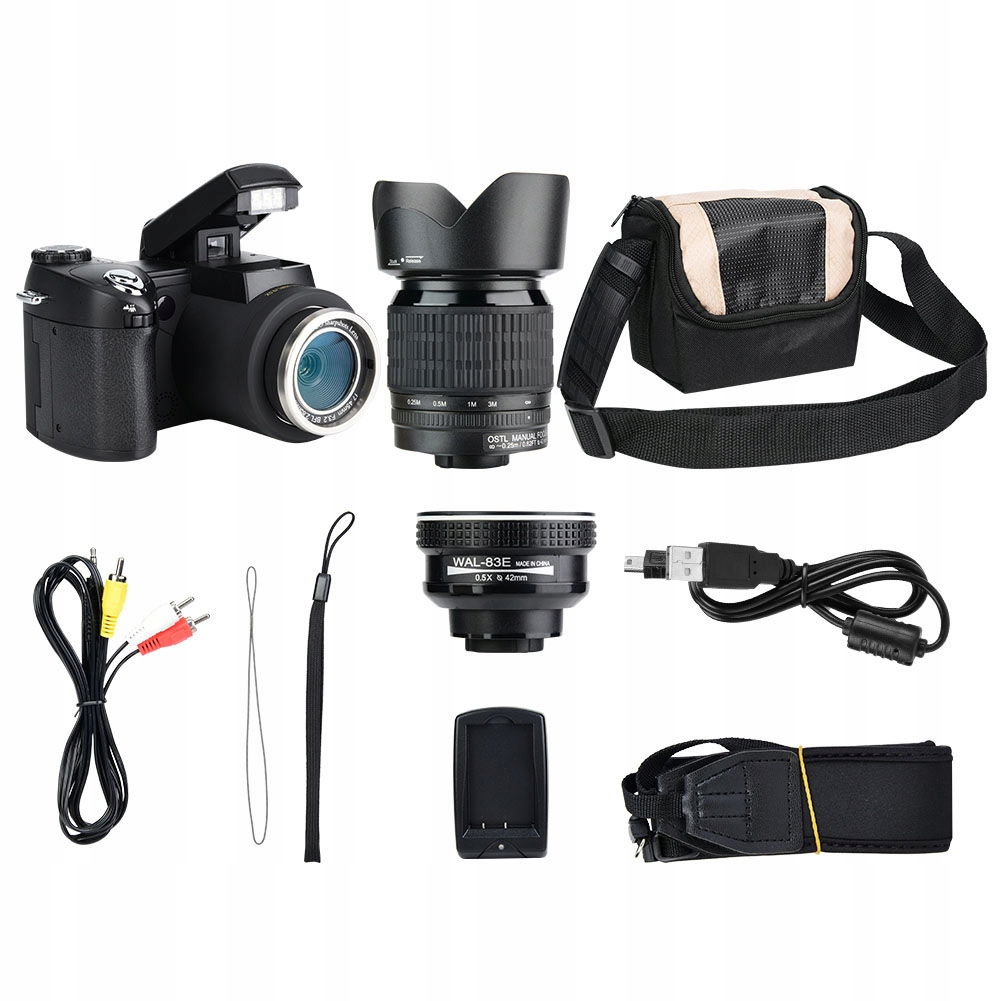 Kamera Cyfrowa Fhd 33MP 1080P 24X Zoom