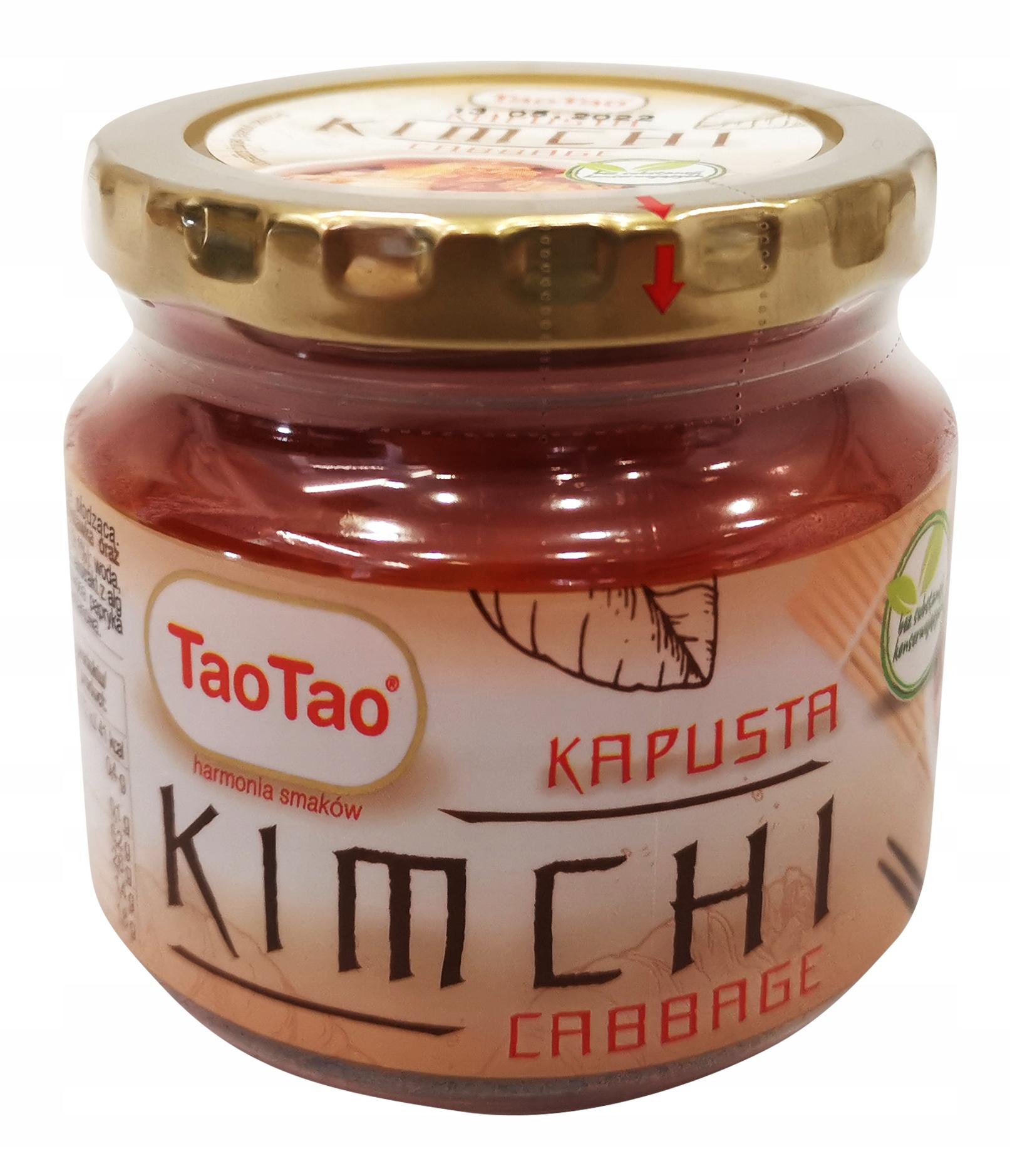 Kapusta Kimchi 215G TaoTao