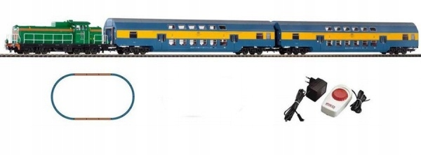 Zestaw z lokomotywą spalinową SM42 PKP PIKO 97934